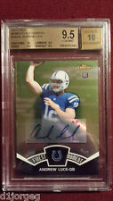 Andrew Luck 2012 Topps Finest Finest Moments Auto Rookie Card BGS Gem Mt 9.5/10