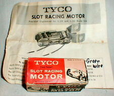 TYCO 901 6 Volt Sidewinder motor 1960 Vintage Slot Car NOS Photcopy Instructions