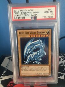 Blue Eyes White Dragon DPKB  Psa 10