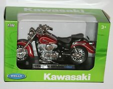 Welly - '02 KAWASAKI VULCAN 1500 CLASSIC Motorbike Model Scale 1:18