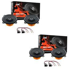 Hertz DCX130.3+DCX130.3 Set Arcas Altavoces Delantero+Post Renault Megane