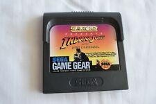 Sega Game Gear Us Gold Indiana Jones And The Last Crusade Video Game
