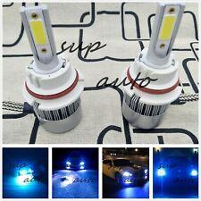 9004 HB1 Bright 8000K Ice Blue 8000LM Cree LED Headlight Bulbs Kit High Low Beam