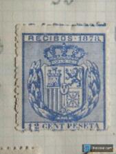 Sello fiscal recibos Alfonso XII 1878, 12 céntimos (2)