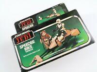 Vintage Star Wars Return of the Jedi Speeder Bike Vehicle 1983 Kenner, Open Box