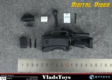 Digital Video News Camera Set Camcorder Reporter Accessories 1/6 ZY Toys USA
