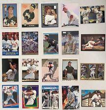 MARK McGWIRE - 20-Card Lot - Oakland Athletics / St. Louis Cardinals