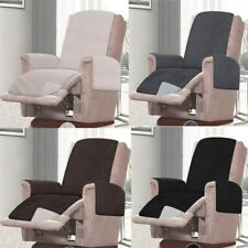 Reversible Recliner Chair Sofa Cover Furniture Protector Double Diamond Quilted