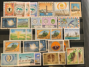 Saudi Arabia: Multiple sets of stamps plus others MNH, SEE SCAN