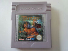 GAMEBOY Gioco-Tarzan LORD OF THE JUNGLE (PAL) (modulo)