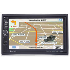 """7020G 7"""" 2 Din Car Audio Stereo MP5 Player Video Remote Control GPS Navigation"""