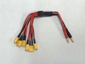 Electriflyer XT60 Parallel Charge lead 6 Output 20113EF