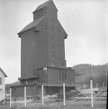 MENNECY c. 1939 - Silo Coopératif  Essonne - Négatif 6 x 6 - N6 IDF21