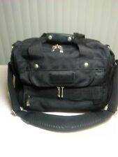Brookstone 16 X 12 X 8 Carry On/ Camera Bag With LSR Padded Camera Insert Black