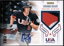 ET 2012 USA Baseball 18U National Team Patches Signatures Connor Heady  #05/35