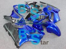 Blue Fairings + Tank Cover kit Kawasaki Ninja ZX12R 2003 2004 2002-2005 016 A4