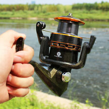 Spinning Fishing Reel Metal Spool 6 BB 5.2:1 Fishing Gear Tackle DE20