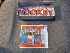 1968 Topps Hockey Empty Box GREAT SHAPE!! w/ Wrapper