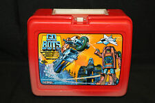 1984 Go-Bots Plastic Lunch Box VG- Slight Fading