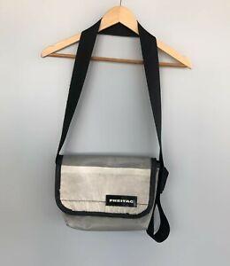 FREITAG Recycled Crossbody Messenger Shoulder Bag Gray Size 29 x 21 x 11 cm