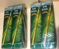 192 Pencil Dixon Ticonderoga #2 HB World's Best Pencils