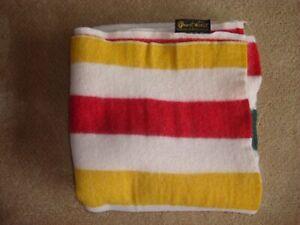 Pearce Woolrich Wool Blanket 64 x 58 mint