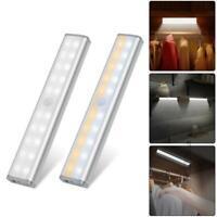 20 LED Unterbauleuchte Küchenschrank-Lampe Licht Nachtlicht Bewegungsmelder DE