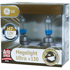 H7 GE Lighting Megalight Ultra +130% Halogen Scheinwerfer Lampe DUO - Box NEU