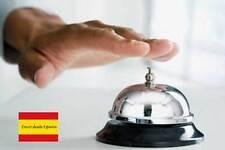 TIMBRE HOTEL CAMPANILLA CAMPANA RECEPCION 6 CM COMERCIO RESTAURANTE