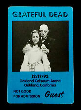 Grateful Dead Backstage Pass Peter Lorre Mad Love Movie Oakland CA 12/19/1993