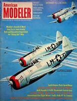 Vintage American Modeler Magazine Sept 1961 Smith Stegens Proto Racer m1010