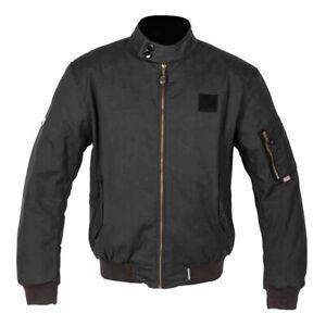 Spada Happy Jack Harrington Wax Motorcycle Jacket: Black: Sizes Available