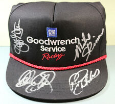 AUTHENTIC Dale Earnhardt Sr. autograph/signed/auto Goodwrench hat w/ others NICE