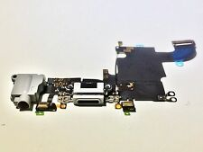 """New USB Charging Port Dock Mic Headphone Flex Cable for iPhone 6S 4.7"""" Gray"""