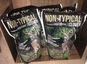 10 LB BioLogic Non-Typical Clover Food Plot Seed for Deer ~ plants 1.25 acres ~