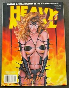 2003 AUGUST HEAVY METAL MAGAZINE *A BIT OF MADNESS* #1 FREE S&H (AM)