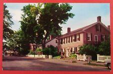 Houses On The Green, Woodstock VT Postcard (#3098)