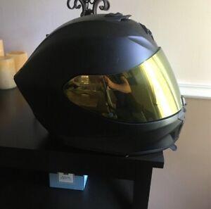 Scorpion EXO-R420 Helmet Flat Matte Black Size Medium 75-1121M / 42-0104