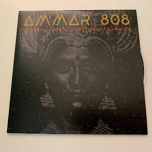 AMMAR 808 - Global Control / Invisible Invasion. Rare 8-track promo CD 2020