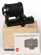 Leica Macro Bellows 16860  for Leica R system ++++MINT++++ 0650