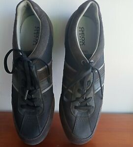 Size12.5 US GEOX Respira Breathable Comfortable Antibacterial Casual Shoes italy