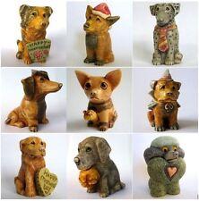 Lot of 9 x Pot Bellys Dog Days Box Figurines - NIB - MPS Harmony Kingdom