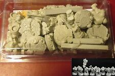 Scibor 28SF0169 Dwarves Marines Set (10) 28mm Miniatures SF Dwarf Space Troopers