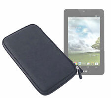 Black EVA Clam Style Hard Case for Asus Memopad HD 7 w/ Netted Pocket