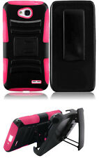 Clip + Hybrid Cover Case LG Optimus Exceed 2 / Realm / Pulse / Ultimate 2 / L70