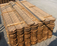 Zaunlatten 2x14,5x180 cm KDI Kiefer Holzzaun Zaun Sichtschutzzaun Zaunbretter