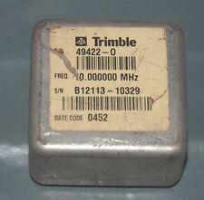 Trimble high stability Oscillator OCXO 49422 10Mhz sinewave +12V 10.00000000 MHz