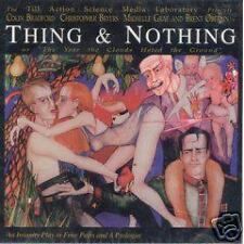 TASM LAB Thing & Nothing An Insanity Play CD RARE OOP