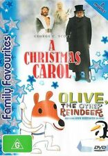 A Christmas Carol / Olive, The Other Reindeer (DVD, 2005, 2-Disc Set) R4 Good