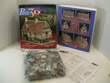Puzz 3D Normandy House 225 Pcs Complete FREE SHIPPING